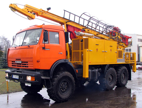 Geological drilling rig H35S type