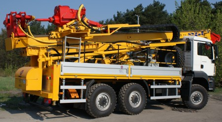 Geological drilling rig H61S type
