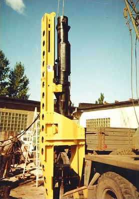 Piling equipment OBW 1251 type